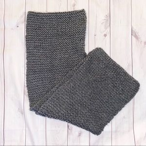 ♡ Grey Knit Scarf ♡